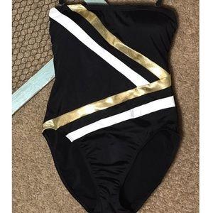 Newport News Shape FX  one piece swimsuit size 14